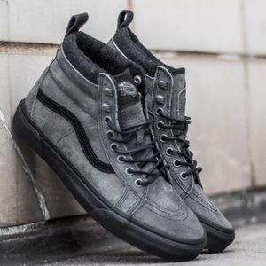 NEW VANS 8.5 Mens / 10 Women's Grey Corduroy Shoes